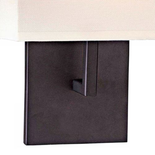 "George Kovacs Bronze 11 1/4"" High Half-Shade Wall Sconce"