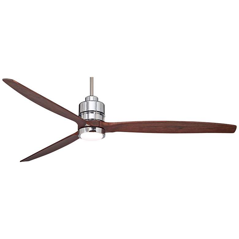 "70"" Sonnet Chrome Finish LED Ceiling Fan more views"