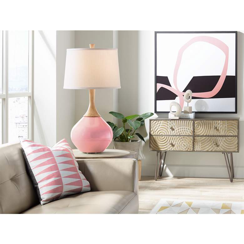 Haute Pink Wexler Table Lamp more views