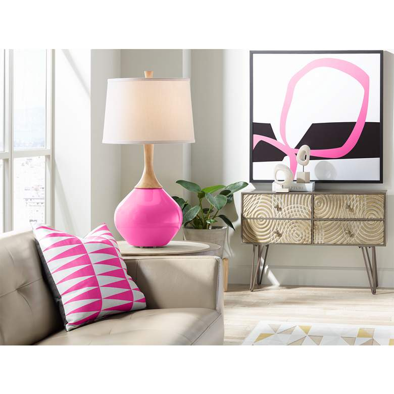 Blossom Pink Wexler Table Lamp more views
