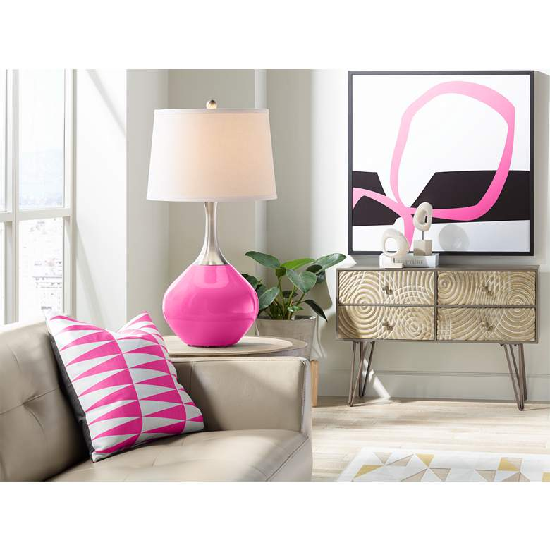 Blossom Pink Spencer Table Lamp more views
