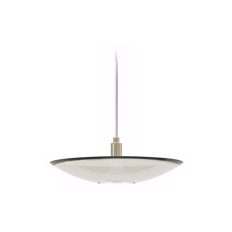 Diz Clear Glass Satin Nickel Tech Lighting Mini Pendant more views