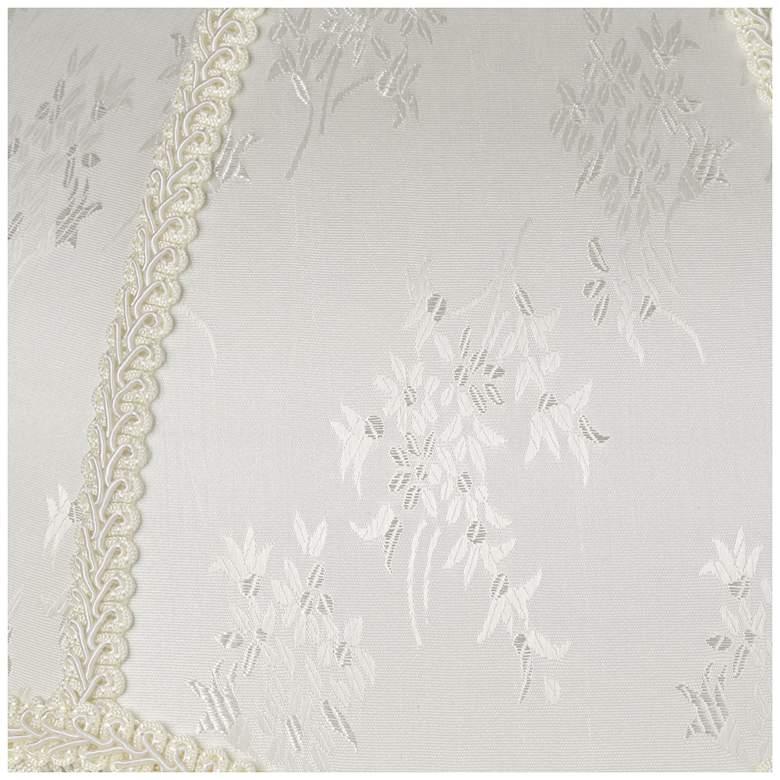 Cream Scallop Dome Lamp Shade 6x17x12x11 (Spider) more views