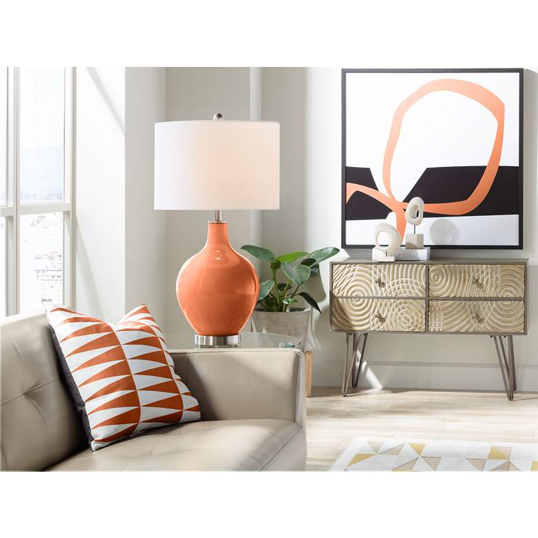 Robust Orange Ovo Table Lamp more views