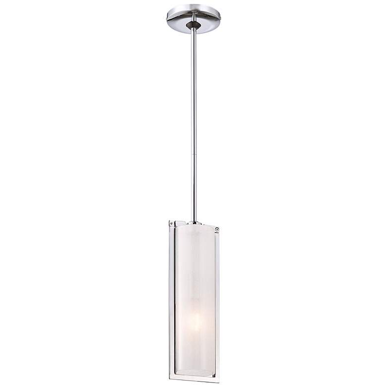 "Clarte Collection 5"" Wide One Light Mini Pendant more views"