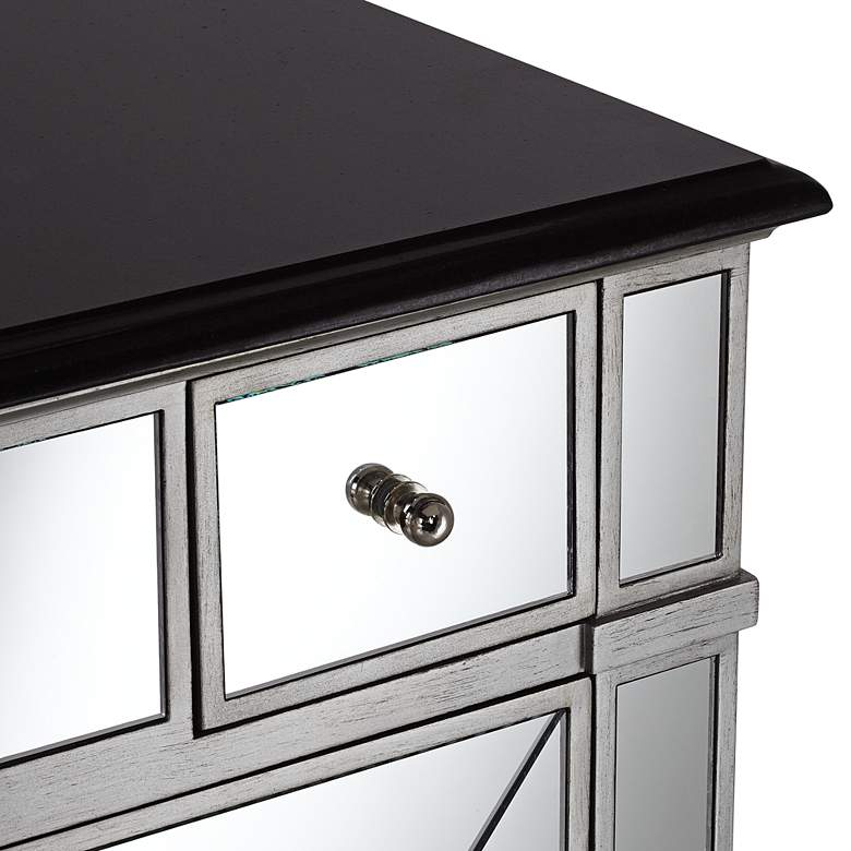 "Mackenzie Mirrored and Granite 36""W Bathroom Sink Vanity more views"