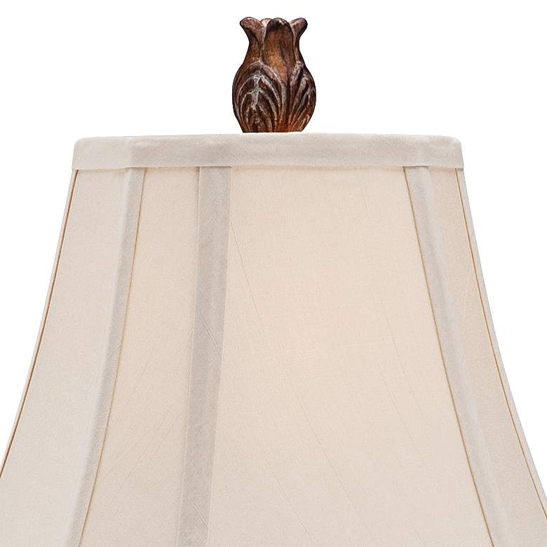Thornewood Brown Traditional Console Table Lamp more views