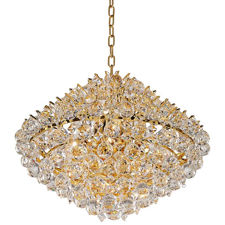"Vienna Full Spectrum Essa 20"" Wide Gold - Crystal Pendant more views"