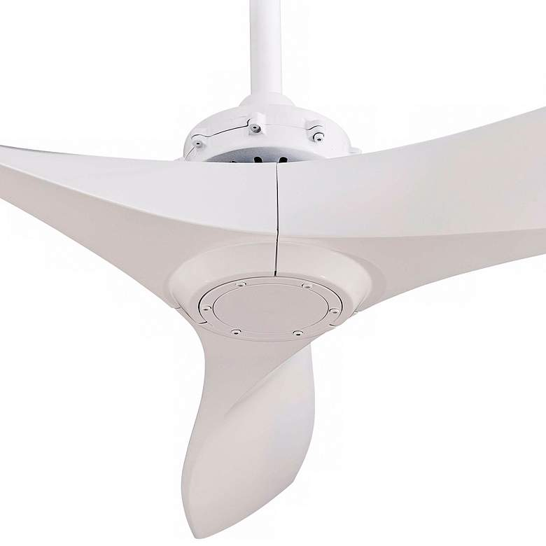 "60"" Minka Aire Aviation White Ceiling Fan more views"