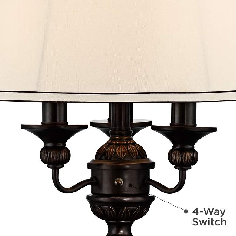 Kathy Ireland Mulholland Traditional Table Lamp more views