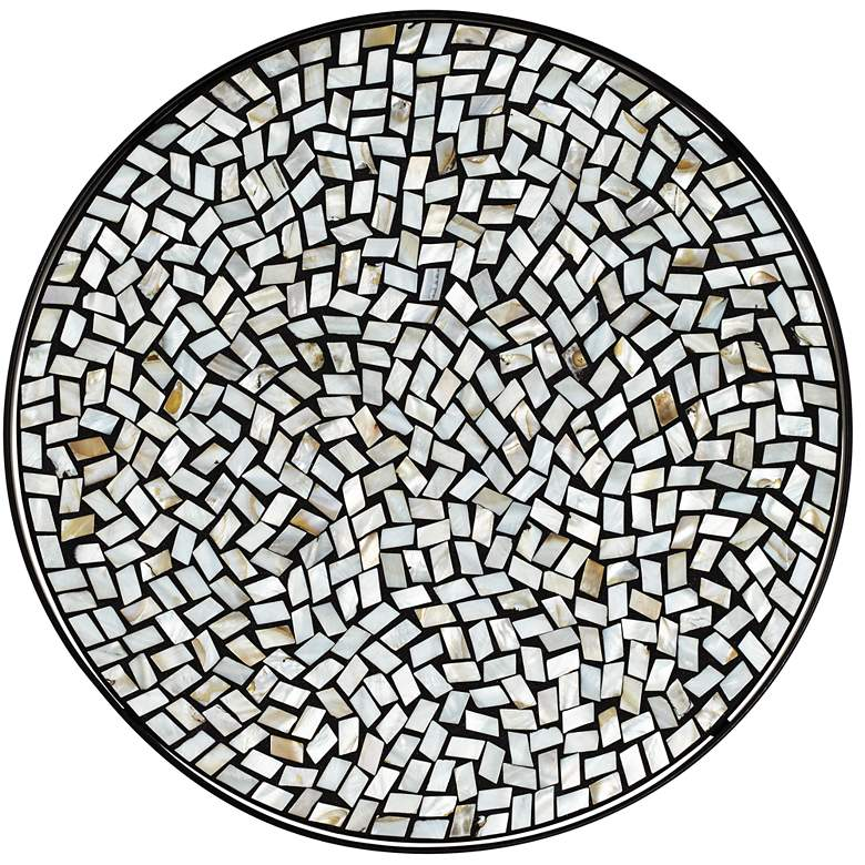 Zaltana Mosaic Outdoor Accent Table more views