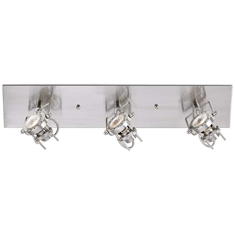 LED Pro Track® European Style Satin 3-Light Fixture more views