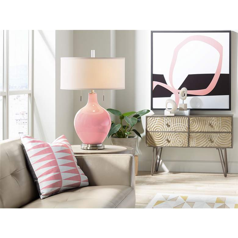 Haute Pink Toby Table Lamp more views