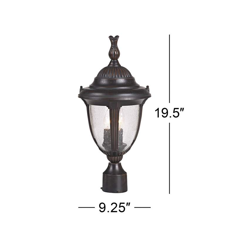 "Casa Sierra™ Collection 19 1/2 "" High Post Mount more views"