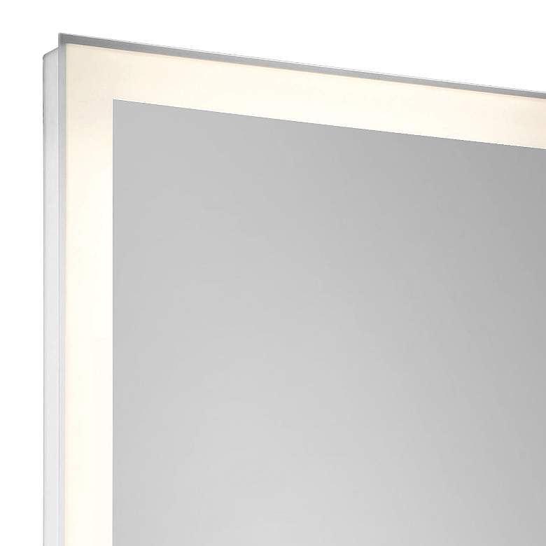 "Eurofase Adams Edge-lit 21"" x 60"" Linear LED Wall Mirror more views"