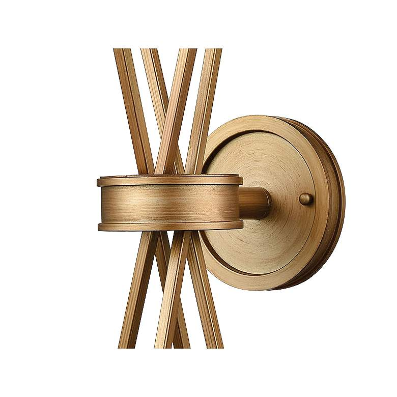 "Xenia 20"" High Matte Gold Wall Sconce more views"