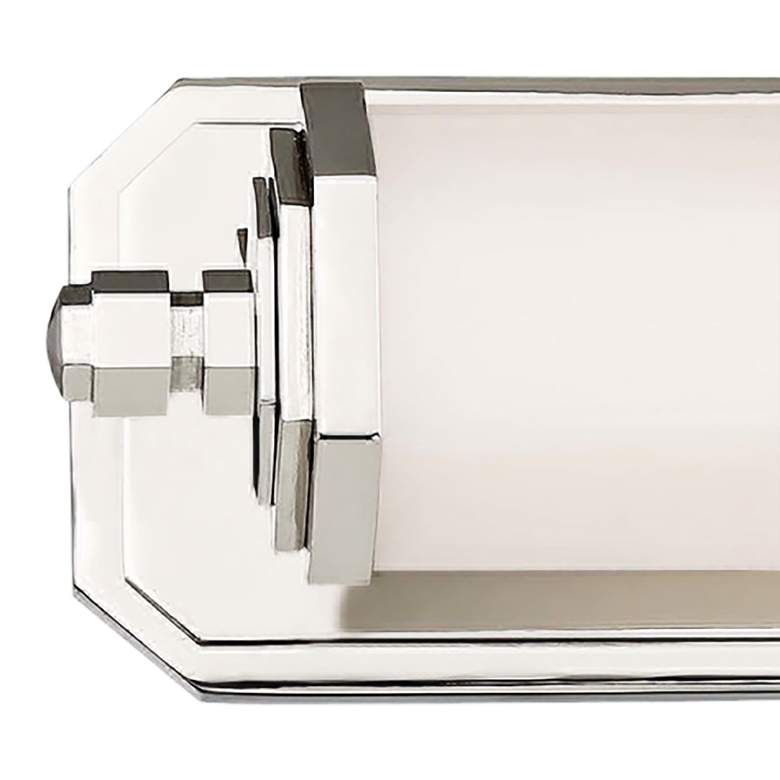 "Lowry 24 1/4"" Wide Polished Nickel LED Bath Vanity Light more views"