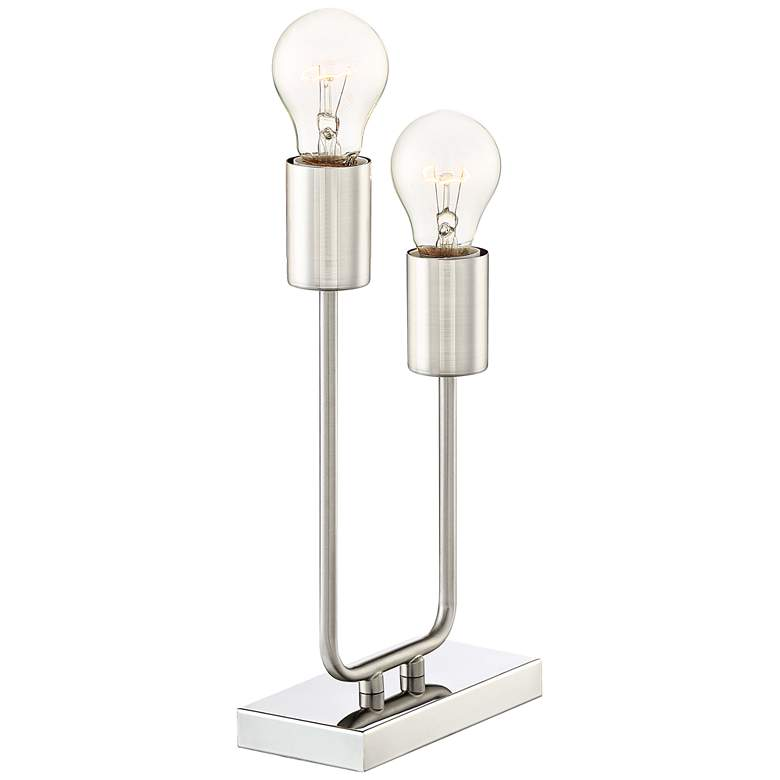Gabi High Metal 2-Light Accent Table Lamp more views