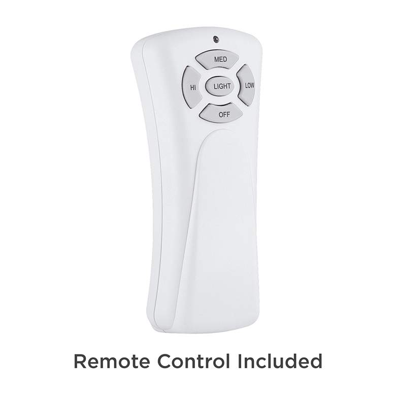 "52"" Playa Del Ray Brushed Nickel Wet LED Ceiling Fan more views"