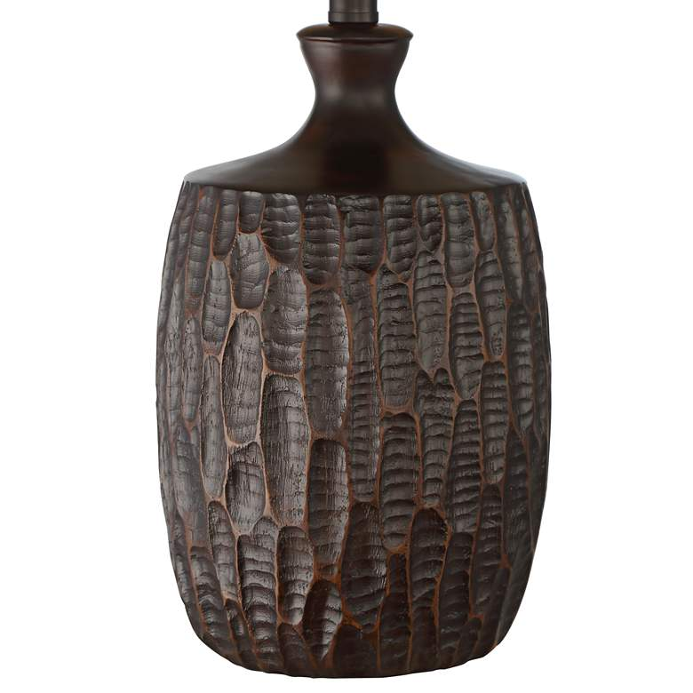 Kelly Rustic Farmhouse Table Lamp with Mica Shade more views