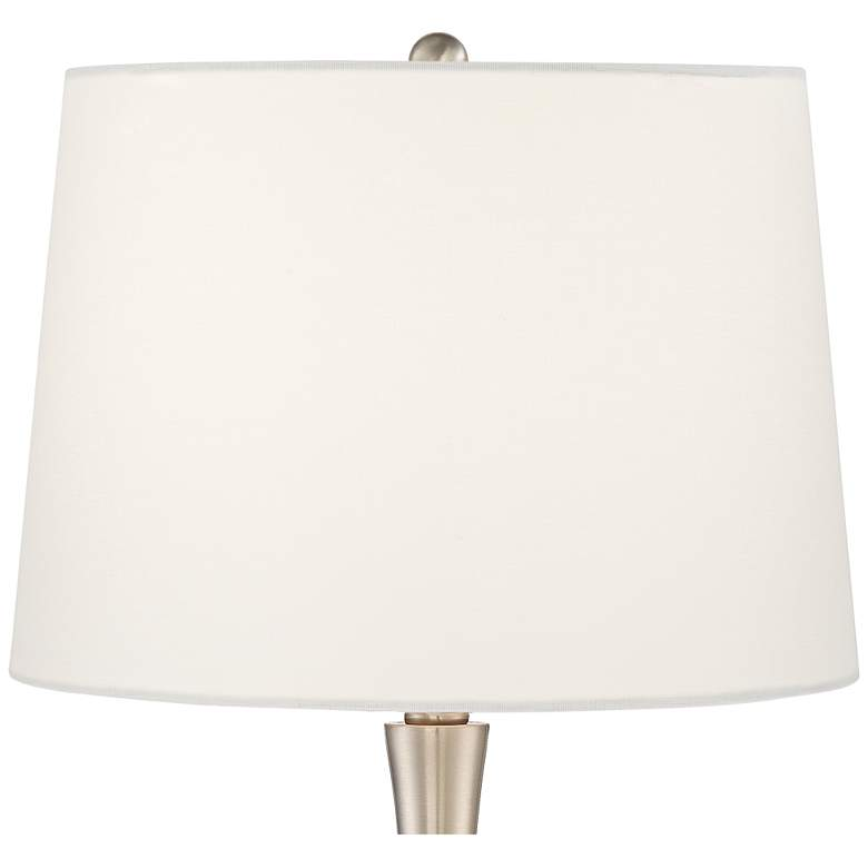 Martha Modern Metal and Glass Table Lamp more views