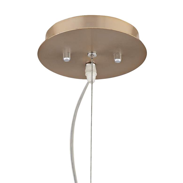 "Hemingson 33"" Wide Gold 15-LED Sputnik Pendant Light more views"