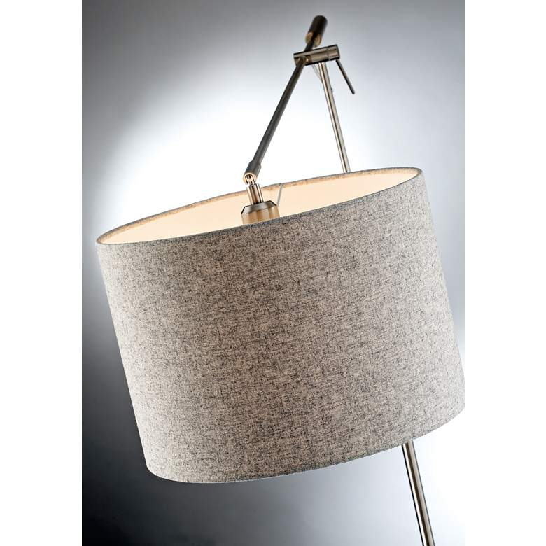 Lite Source Lucilla Brushed Nickel Floor Lamp more views