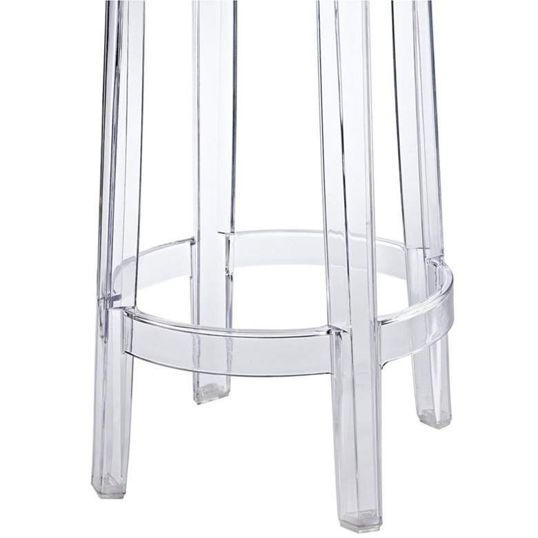 "Casper 26 1/2"" Clear Counter Stool more views"