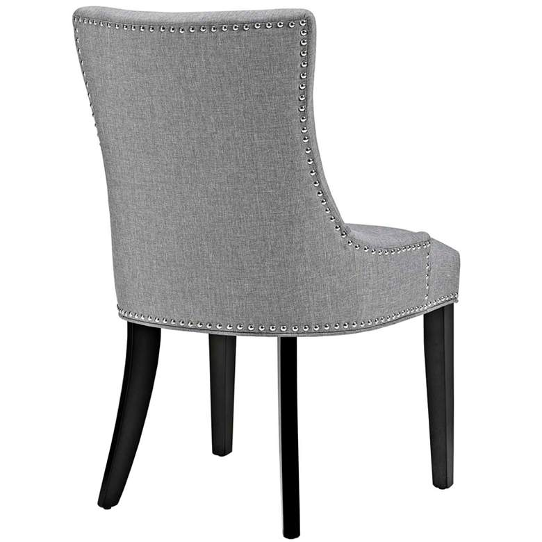 Marquis Light Gray Fabric Dining Chair 33t48 Lamps Plus