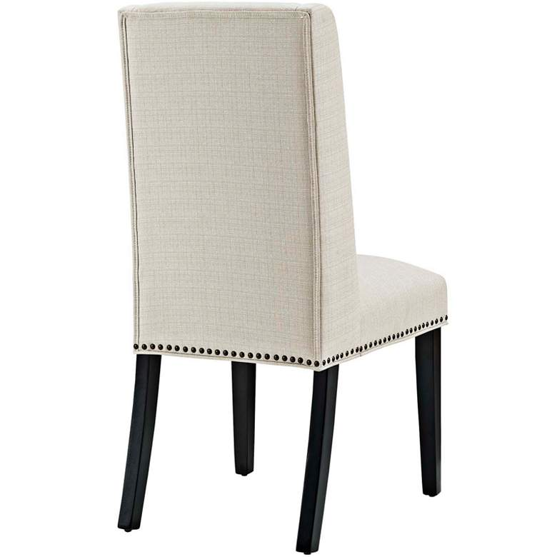 Baron Beige Fabric Dining Chair more views