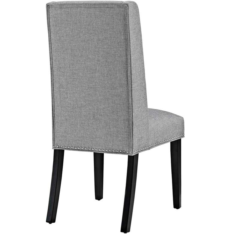 Baron Light Gray Fabric Dining Chair more views