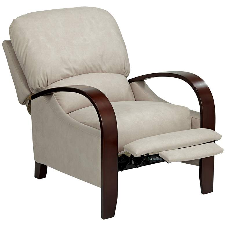Cooper Aviator Bisque White 3-Way Recliner Chair more views