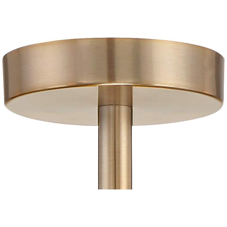 "Possini Euro Hemingson 32""W Gold 15-Light LED Ceiling Light more views"