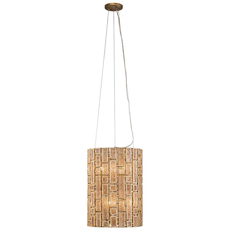 "Varaluz Harlowe 14"" Wide Havana Gold Pendant Light more views"
