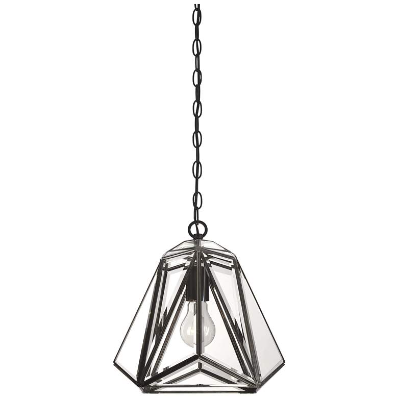 "Eurofase Glacier 11 1/2"" Wide Bronze Lantern Mini-Pendant more views"