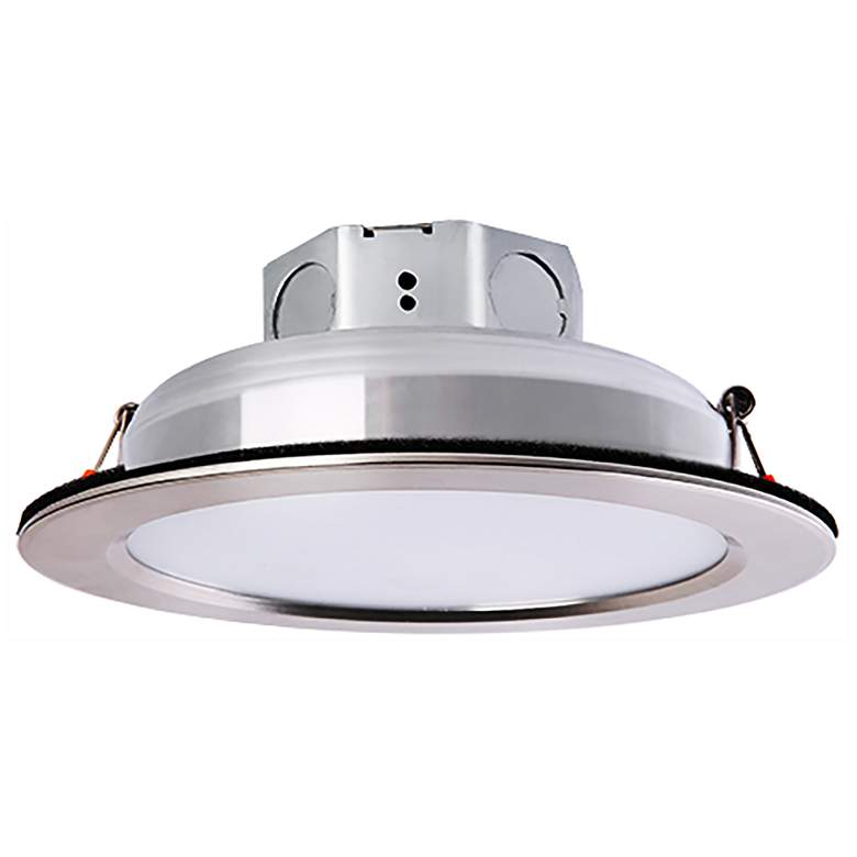 "Veloce 4"" Nickel LED Retrofit Downlight more views"
