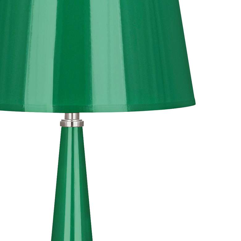 Versailles Emerald Lacquer Table Lamp with Emerald Shade more views
