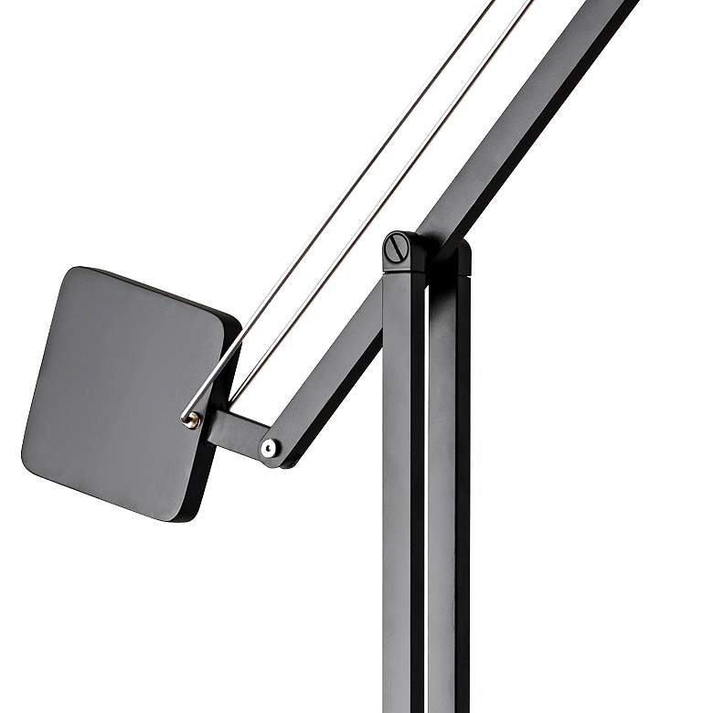 Cooper Matte Black Adjustable LED Floor Lamp more views
