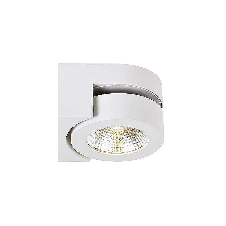"Eurofase Acura 10 1/2"" Wide White 2-LED Ceiling Light more views"