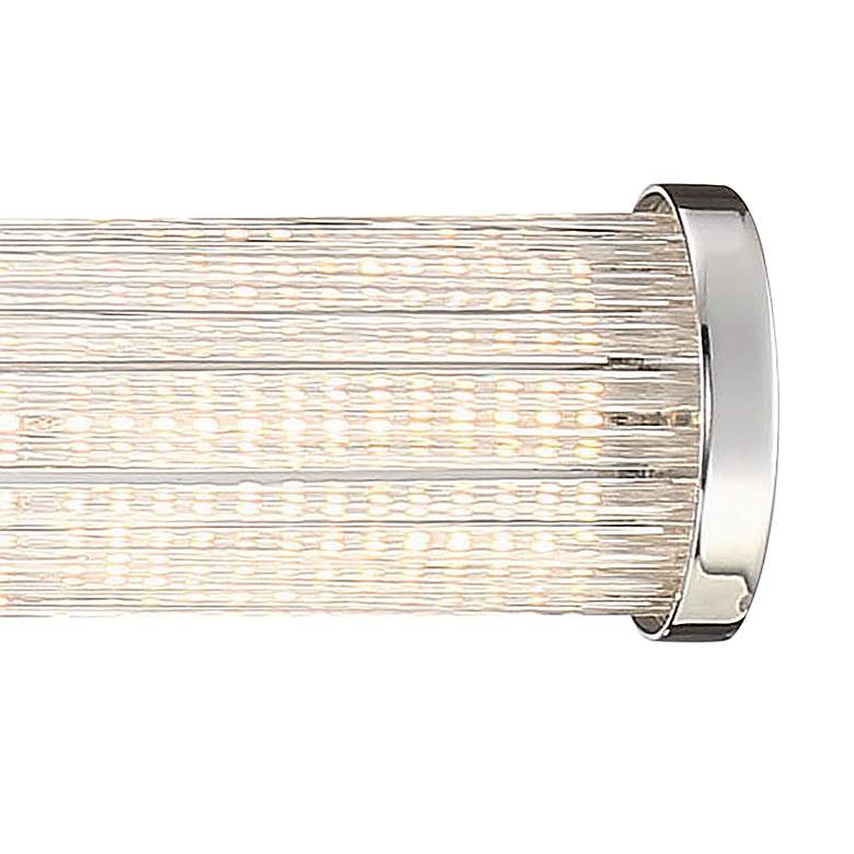 "Eurofase Braid 32"" Wide Chrome LED Bath Light more views"