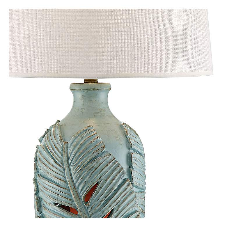 Marco Island Glacier Blue Night Light Table Lamps Set of 2 more views