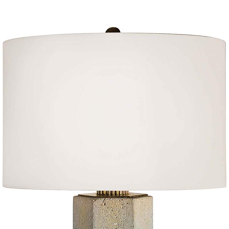 Regina Andrew Gareon Concrete Table Lamp more views