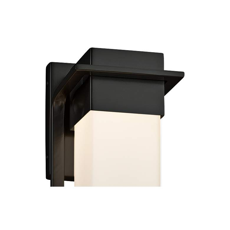 "Fusion™ Pacific 16 1/2"" High Black LED Outdoor Wall Light more views"