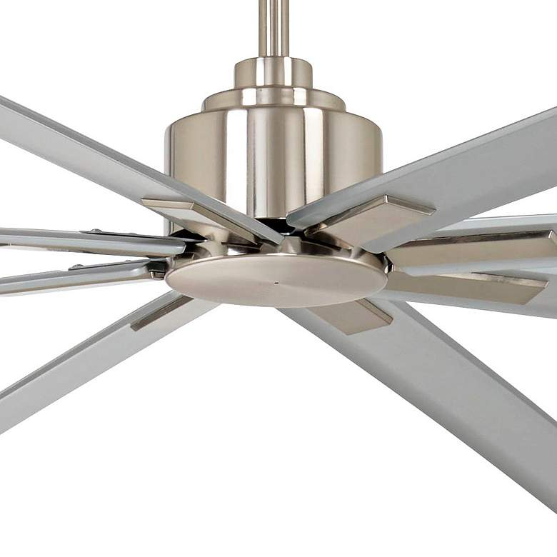 "84"" Minka Aire Xtreme H20 Brushed Nickel Wet Ceiling Fan more views"