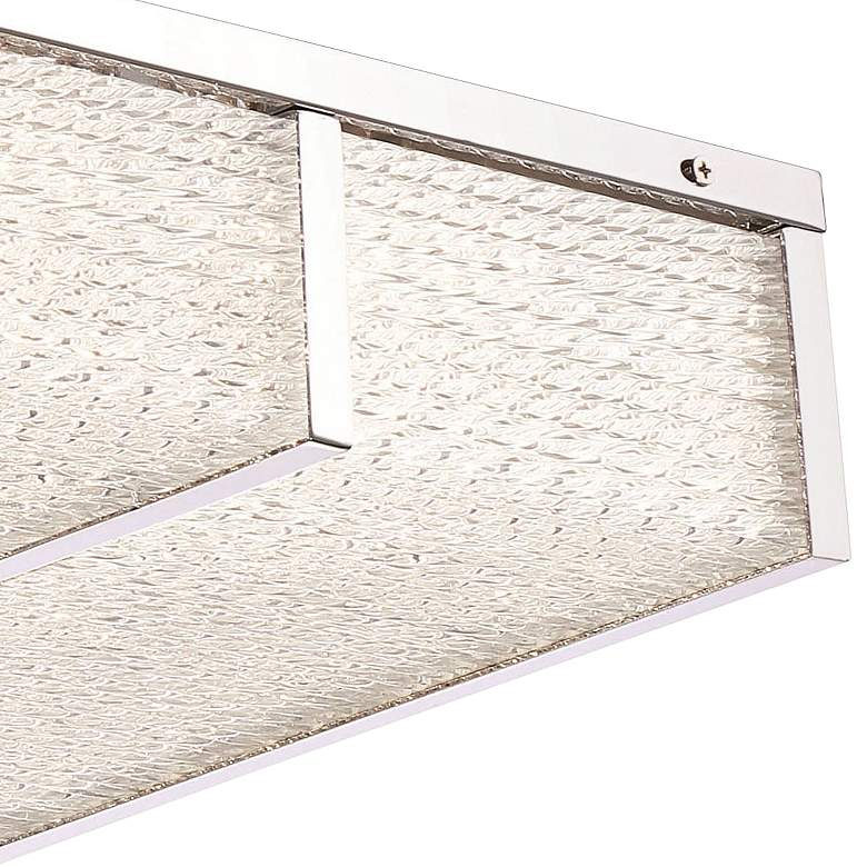 "Eurofase Wynn 12"" Wide Chrome Small LED Ceiling Light more views"