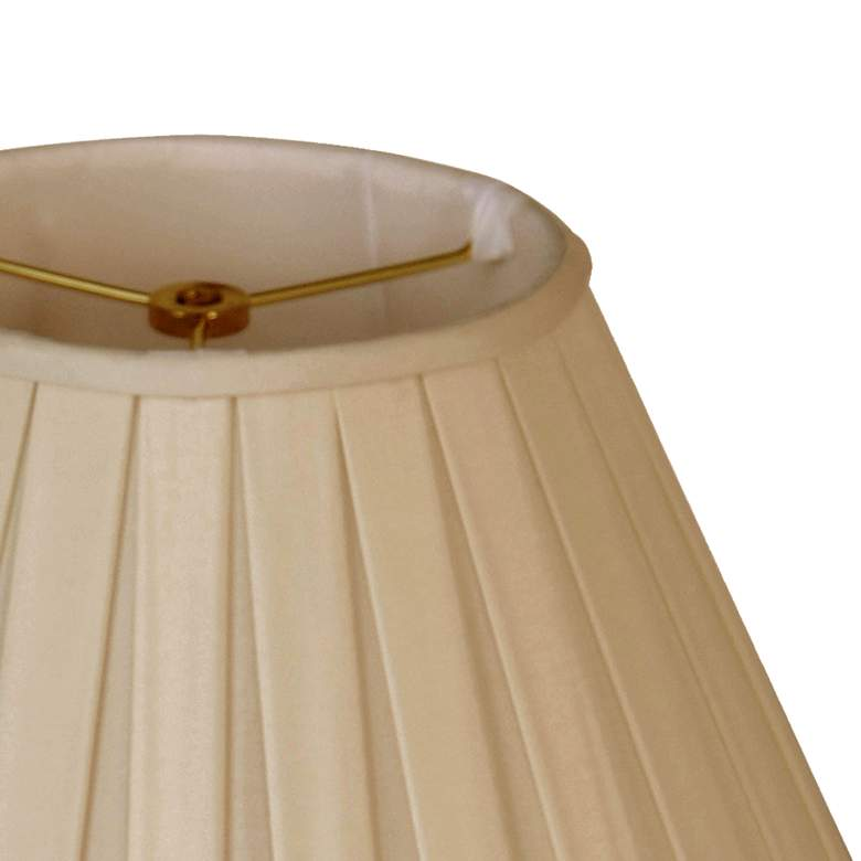 Sand Empire Box Hand-Pleated Lamp Shade 7x14x9 (Spider) more views