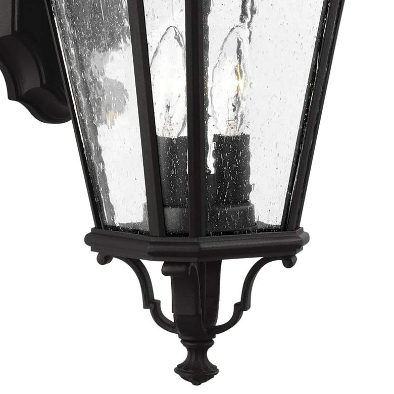 "Feiss Cotswold Lane 20 1/2"" High Black Outdoor Wall Light more views"