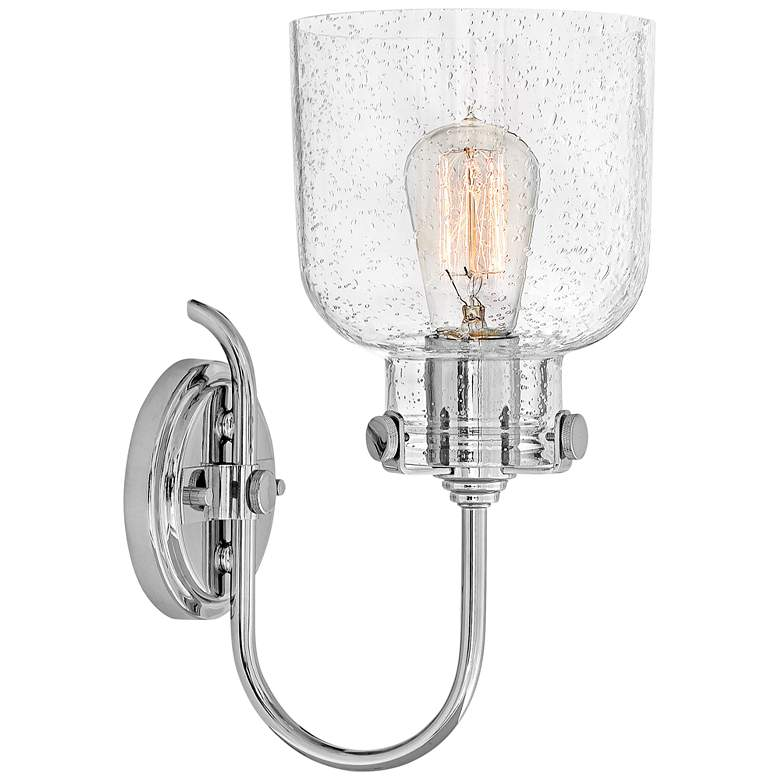 "Hinkley Congress 13 1/4"" High Chrome Wall Sconce more views"