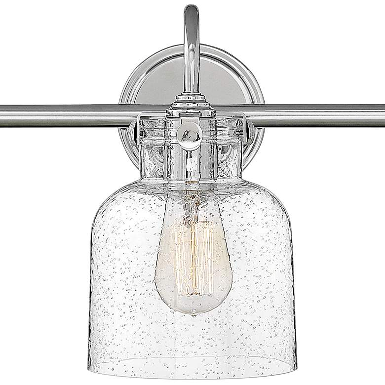 "Hinkley Congress 29 1/2"" Wide Chrome 3-Light Bath Light more views"