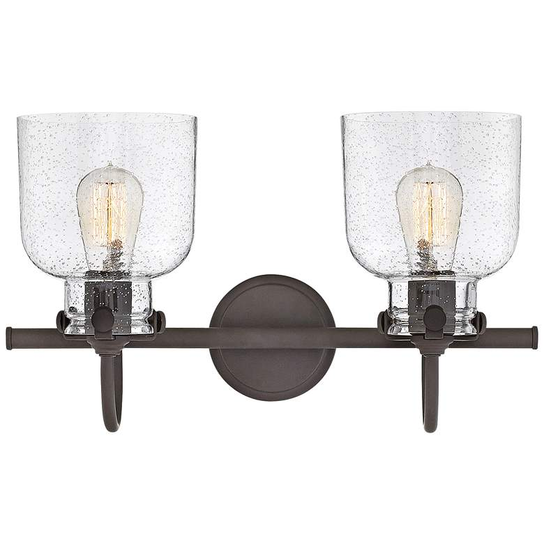 "Congress 11 1/4"" High Oil Rubbed Bronze 2-Light Wall Sconce more views"